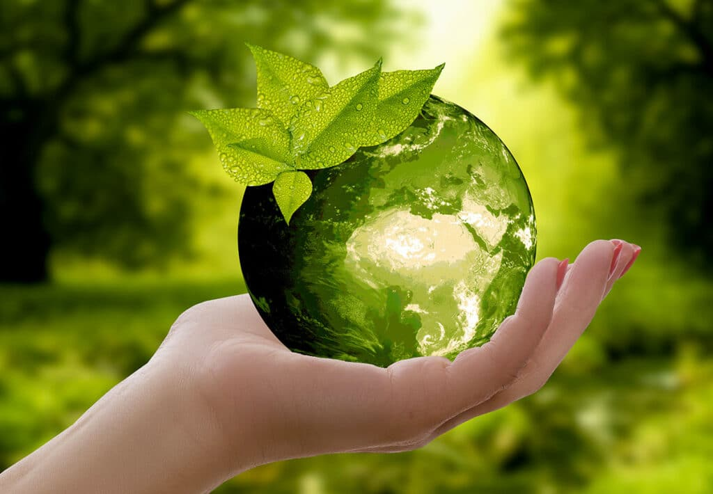 concetto di sostenibilità ambientale